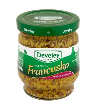 Develey Musztarda Francuska 190 g