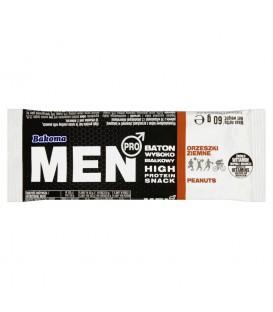 Bakoma Men Pro Baton wysokobiałkowy orzeszki ziemne 60 g