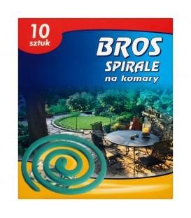 Bros Spirale na komary 10 sztuk