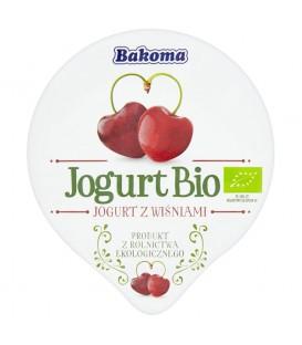 Bakoma Jogurt Bio z wiśniami 140 g