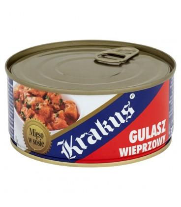 Krakus Gulasz wieprzowy Konserwa 300 g