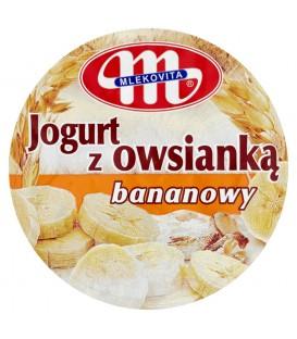 Mlekovita Jogurt z owsianką bananowy 180 g