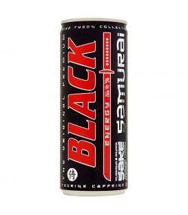 Black Energy Samurai Gazowany napój energetyzujący o smaku wiśni imbiru i sake 250 ml