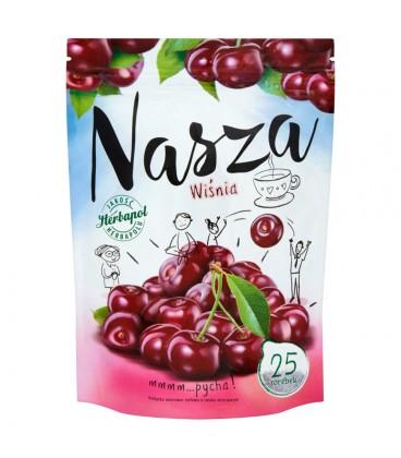 Herbapol Nasza Wiśnia Herbatka owocowo-ziołowa 47,5 g (25 torebek)