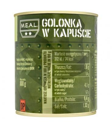 M.E.A.L. Golonka w kapuście 800 g