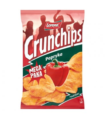 Crunchips Papryka Chipsy ziemniaczane 225 g