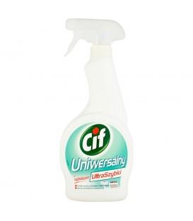 Cif UltraSzybki Uniwersalny z wybielaczem Spray 500 ml
