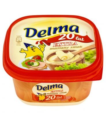 Delma Extra Margaryna o smaku masła 450 g