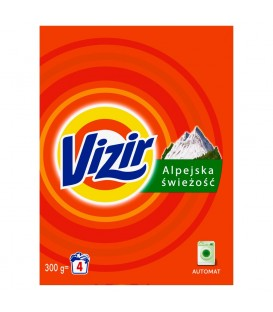 VIZIR ALPINE FRESH PROSZEK DO PRANIA 4 PRANIA (300G)