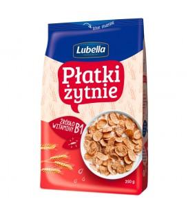 Lubella Płatki żytnie 250 g