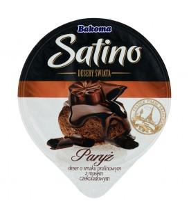 Bakoma Satino Desery Świata Paryż Deser o smaku pralinowym z musem czekoladowym 105 g