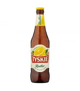 Tyskie Radler Piwo z lemoniadą o smaku cytrynowym 500 ml