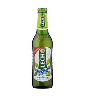 Lech Free Limonka z miętą Piwo bezalkoholowe 330 ml