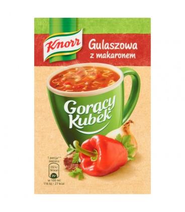 Knorr Gorący Kubek Gulaszowa z makaronem 16 g