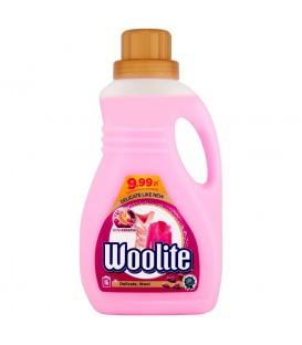 Woolite Delikatne tkaniny i wełna z keratyną Płyn do prania 1 l (16 prań)
