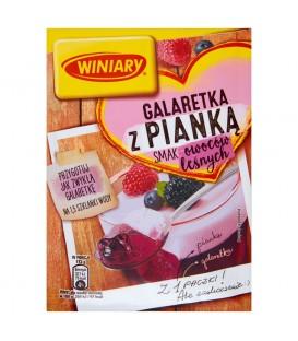 Winiary Galaretka z pianką smak owoców leśnych 72 g