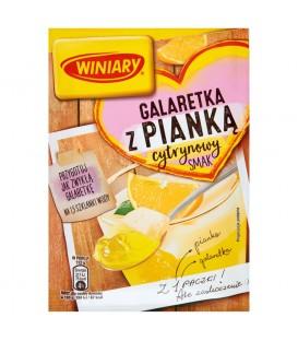 Winiary Galaretka z pianką smak cytrynowy 72 g