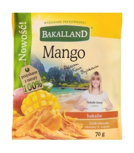 SELECTION Mango suszone 70g Bakalland