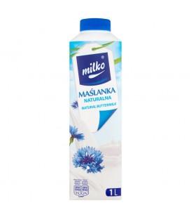 Milko Maślanka naturalna 1 l