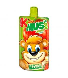 Kubuś Mus 100% jabłko banan 100 g