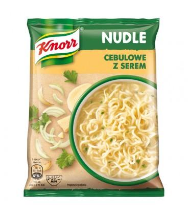Knorr Nudle Cebulowe z serem Zupa-danie 63 g