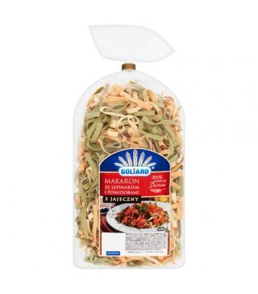 Goliard Makaron ze szpinakiem i pomidorami 400 g