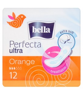 PODPASKI BELLA PERFECTA ULTRA ORANGE EXTRA SOFT 10SZT.