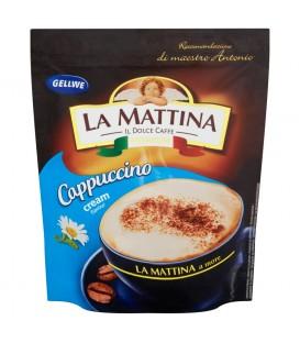 Gellwe La Mattina Napój kawowy Cappuccino o smaku śmietankowym 100 g