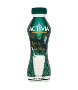 Danone Activia Letnia Kolekcja Jogurt naturalny 300 g