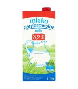 Mleko zambrowskie UHT 3,2% 1 l