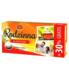 Posti Rodzinna Klasyczna Herbata czarna ekspresowa 145,6 g (104 torebki)