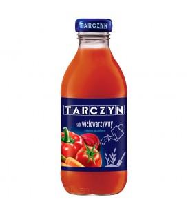 Tarczyn Wielowarzywny sok 100% 300 ml