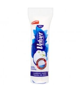 Velvet Natural Comfort Płatki kosmetyczne 80 sztuk