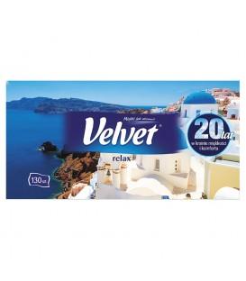 Chusteczki kosmetyczne Velvet 130 szt.