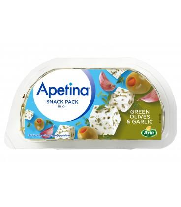 ARLA APETINA snack z zielonymi oliwkami i czosnkiem