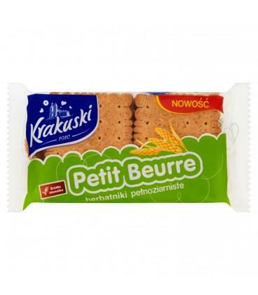 Krakuski Petit Beurre Pełnoziarn 50g