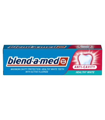Blend-a-med Anti-Cavity Healthy White Pasta do zębów 100 ml