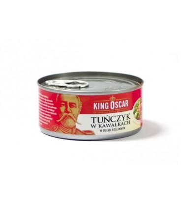 Tuńczyk w kawałkach w oleju roślinnym 170g