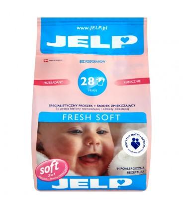 JELP Fresh Soft Specjalistyczny proszek i środek zmiękczający do prania odzieży dziecięcej 2,24 kg
