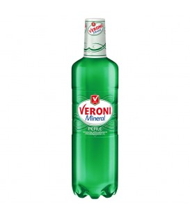 Veroni Mineral Perle Naturalna woda mineralna średnionasycona dwutlenkiem węgla 1,5 l
