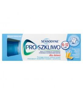 Sensodyne ProSzkliwo Pasta do zębów z fluorkiem dla dzieci 6-12 lat 50 ml
