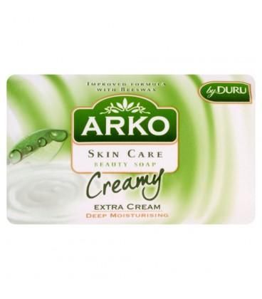 Arko Skin Care z dodatkowym kremem Głęboko nawilżające mydło kosmetyczne 90 g
