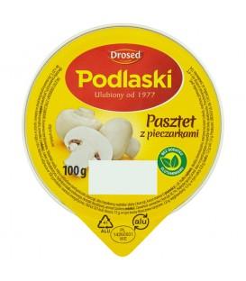 Drosed Podlaski Pasztet z pieczarkami 100 g