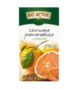 Big-Active Express Yourself czerwona pomarańcza z lapacho Herbatka owocowo-ziołowa 45 g (20 torebek)