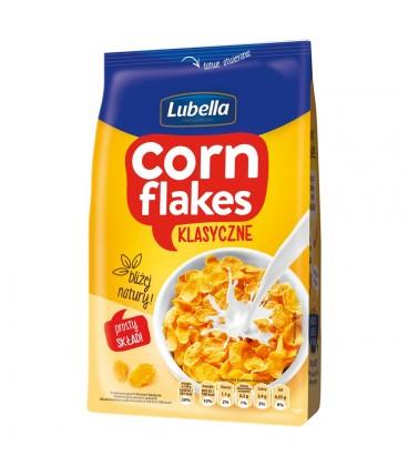 Lubella Corn Flakes Klasyczne Płatki kukurydziane 250 g