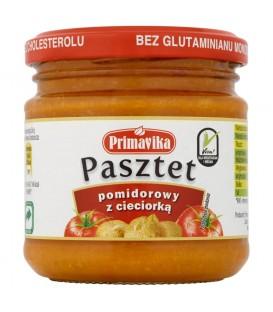 Primavika Pasztet pomidorowy z cieciorką 160 g