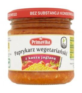Primavika Paprykarz wegetariański z kaszą jaglaną 160 g