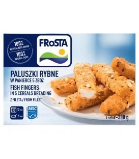 FRoSTA Paluszki rybne w panierce 5 zbóż z fileta 330 g (6 sztuk)