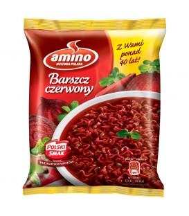 Amino Barszcz czerwony Zupa błyskawiczna 66 g