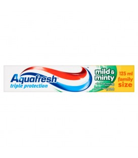 Aquafresh Triple Protection Mild and Minty Pasta do zębów 125 ml